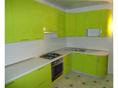 Кухня МДФ пленка на заказ по адресу 20, ул. Ващенка, 7