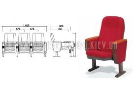 Кресло LS-616- кресла для зрительных залов