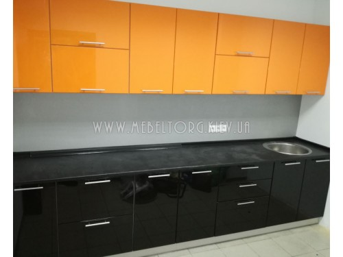 Кухня Крашеный МДФ на заказ по адресу 3, ул. Болсуновская, 8