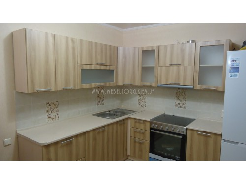 Кухня МДФ пленка на заказ по адресу 73, ул. Жмаченка, 8