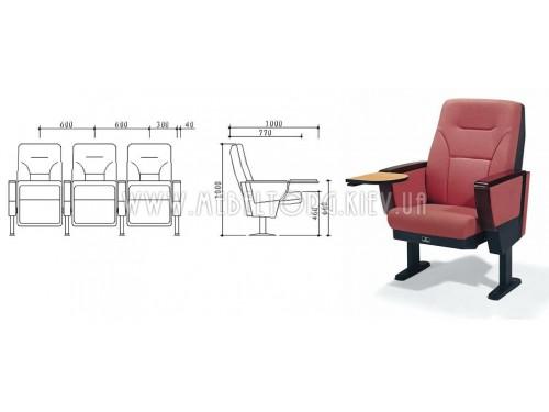 Кресло LS-632- кресла для зрительных залов