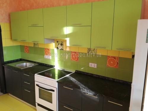 Кухня МДФ пленка на заказ по адресу 118, ул. Кондратюка, 5