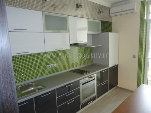 Кухня МДФ акрил на заказ по адресу 82, ул. Петрицкого, 23-А