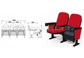 Кресло LS-612- кресла для зрительных залов