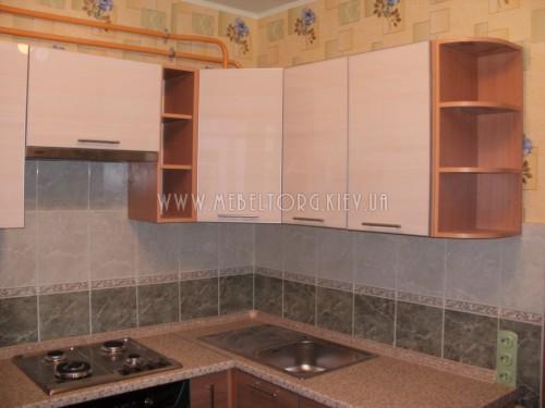 Кухня МДФ акрил на заказ по адресу 80, ул. Борщаговская, 210