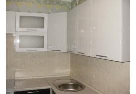 """Кухня """"Сіті""""(кутова 2,3*1,9 м/білий металік-штрокс венге/МДФ)"""