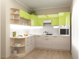 """Кухні """"Ківі""""(оливка глянець/кедр північний)"""