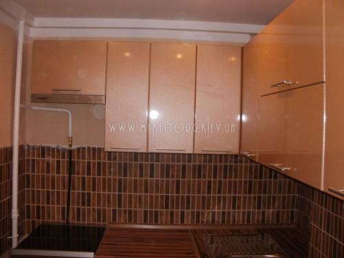 Кухня МДФ пленка на заказ по адресу 109, ул. Нежинская, 7