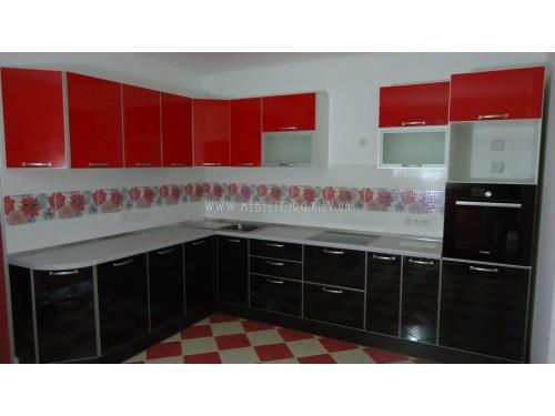 Кухня МДФ акрил на заказ по адресу 33, пр-т Правды, 45