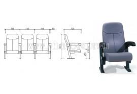 Кресло LS 627- кресла для зрительных залов