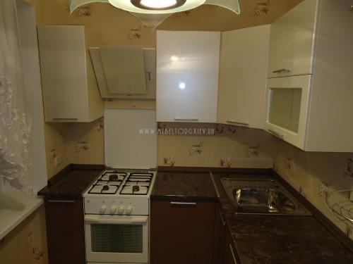 Кухня МДФ пленка на заказ по адресу 126, пр-т Оболонский, 16