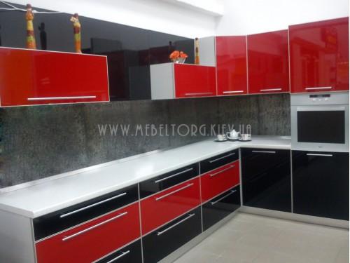 Кухня МДФ акрил на заказ по адресу 35, ул. Максимовича, 3-Д