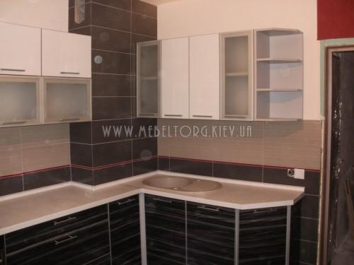 Кухня МДФ акрил на заказ по адресу 79, пр-т Глушкова, 9-Б